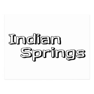 Indian Springs Post Cards