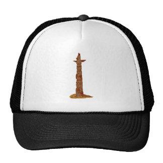 Indian stakestake stake native American totem pola Trucker Hat