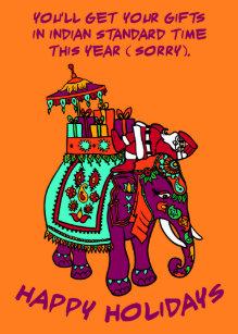 Indian Christmas Cards   Zazzle UK