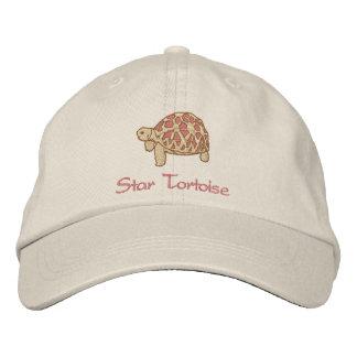 Indian Star Tortoise (embroidery) Baseball Cap