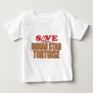 Indian Star Tortoise Save Baby T-Shirt