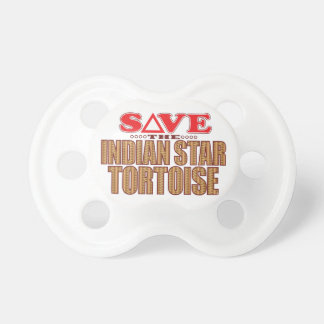 Indian Star Tortoise Save Pacifier