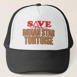 Indian Star Tortoise Save Trucker Hat