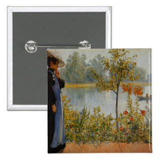 Indian Summer 15 Cm Square Badge