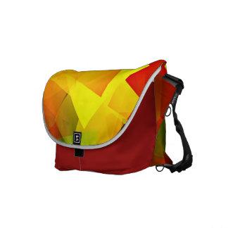 Indian Summer Cubes Messenger Bag