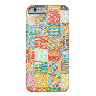 Indian Summer ikat patches Barely There iPhone 6 Case