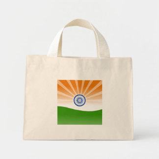 Indian sun mini tote bag