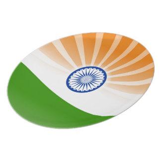 Indian sun plate