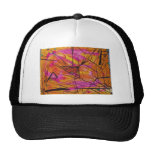 Indian Sunset Watercolor Hat