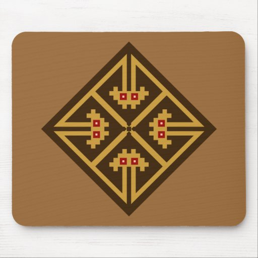 Indian symbol native American Mouse Pads