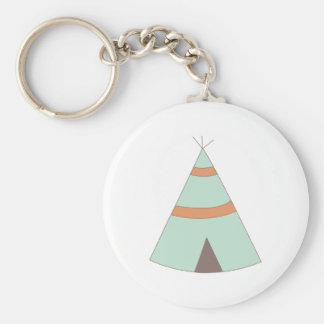 Indian Teepee Key Chains