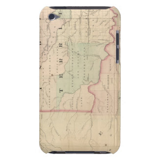 Indian Territory and Texas, North West Portion iPod Touch Case