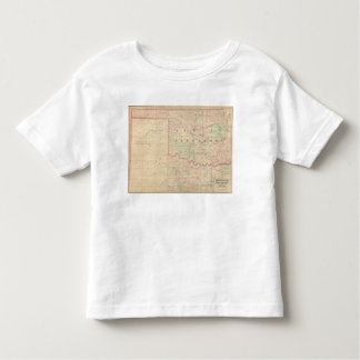 Indian Territory and Texas, North West Portion Toddler T-Shirt
