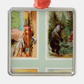 Indian Territory, New Mexico, South Dakota, Texas Christmas Ornament