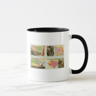 Indian Territory, New Mexico, South Dakota, Texas Mug