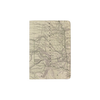 Indian Territory, North Texas, New Mexico Passport Holder