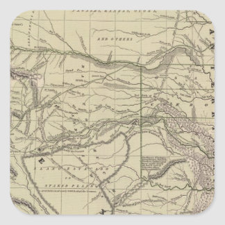 Indian Territory, North Texas, New Mexico Square Sticker
