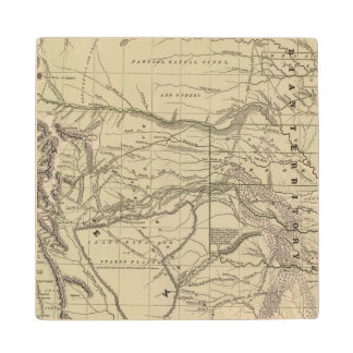 Indian Territory, North Texas, New Mexico Wood Coaster