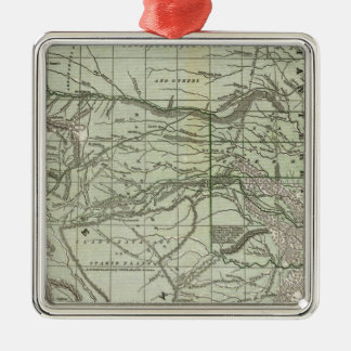 Indian Territory, Northern Texas and New Mexico Christmas Ornament