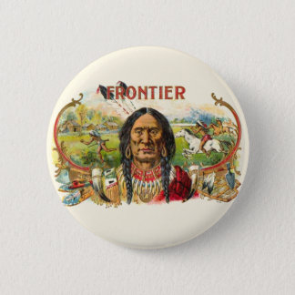 Indian Tobacco Label 6 Cm Round Badge