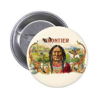 Indian Tobacco Label 6 Cm Round Badge