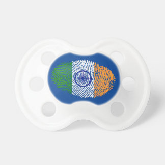 Indian touch fingerprint flag baby pacifier