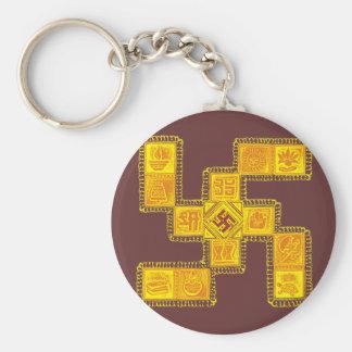 Indian Traditional Swastika Key Ring