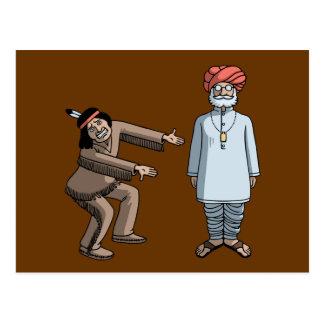 Indian v. Indian Postcard
