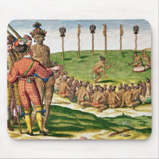 Indian Victory Ceremony, from 'Brevis Mouse Pad