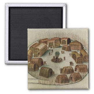 Indian Village of Pomeiooc Magnet