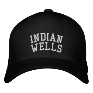 Indian Wells Embroidered Hat