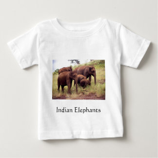Indian wild elephants tees