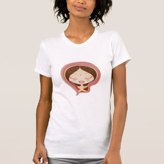 Indian Woman Praying T-Shirt