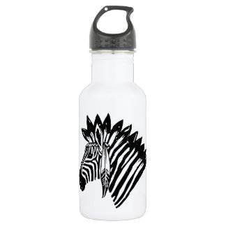 Indian zebra 18oz water bottle