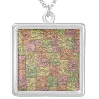 Indiana 10 silver plated necklace