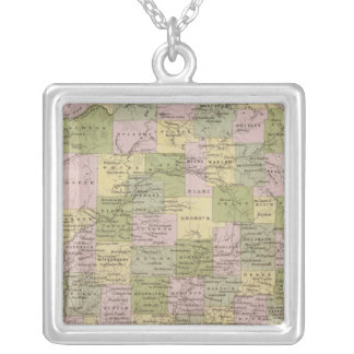 Indiana 12 silver plated necklace