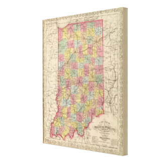 Indiana 2 canvas print