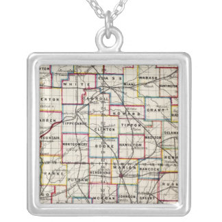 Indiana 2 silver plated necklace