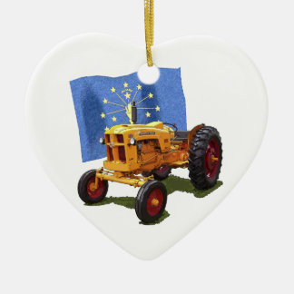 Indiana 445 christmas ornament