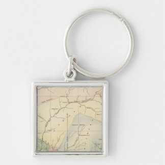 Indiana 4 key ring