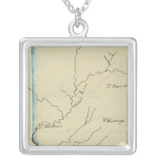 Indiana 4 silver plated necklace