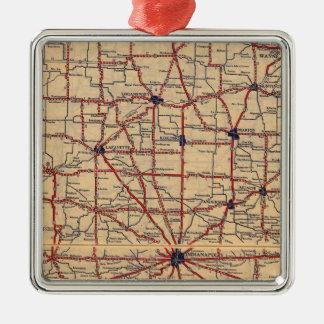 Indiana 5 christmas ornament