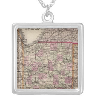 Indiana 5 silver plated necklace