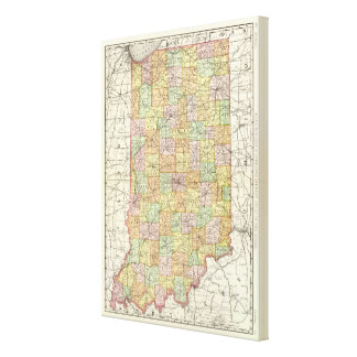 Indiana 6 canvas print