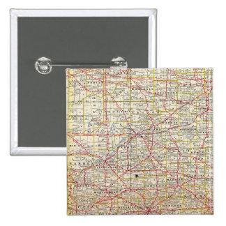 Indiana 7 15 cm square badge