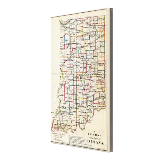 Indiana 7 canvas print