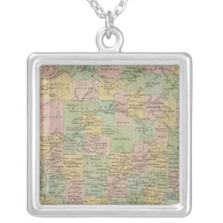 Indiana 7 silver plated necklace