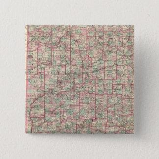 Indiana 8 15 cm square badge