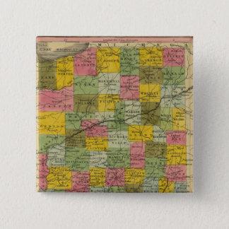 Indiana 9 15 cm square badge