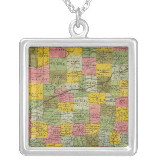 Indiana 9 silver plated necklace